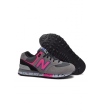 New Balance 574 Light Grey/Pink