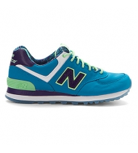 New Balance 574 Lime/Green/White